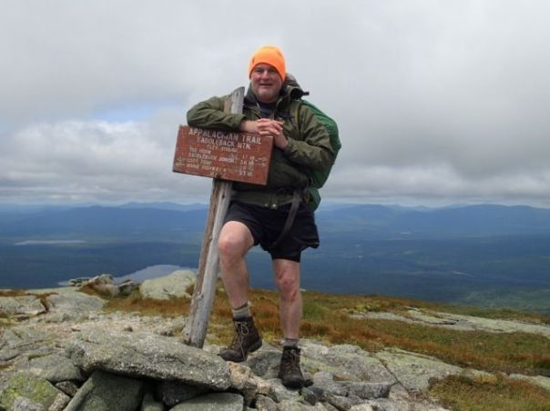 Last July, I wrapped up a 15-year section hike of the Appalachian Trail. A highlight was hiking out of a two-day rainstorm into raw, clear weather atop Saddleback Mountain. So much to be thankful for -- friends, good health and adventures. (Photo by Eric Graves, all rights reserved).
